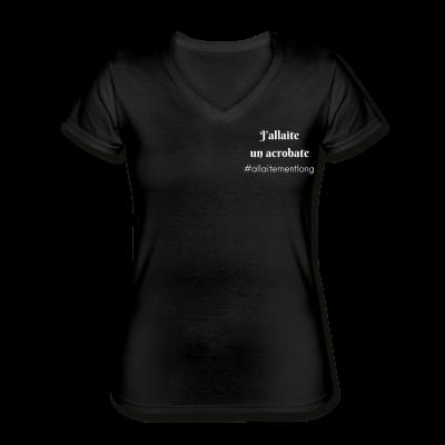 T-shirt J'allaite un acrobate
